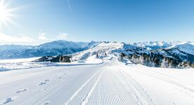 Amazing slopes and nice weather at the Schmittenöhe Foto: © Zell am See-Kaprun