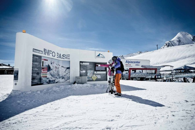 Freeride Infos Base am Kitzsteinhorn